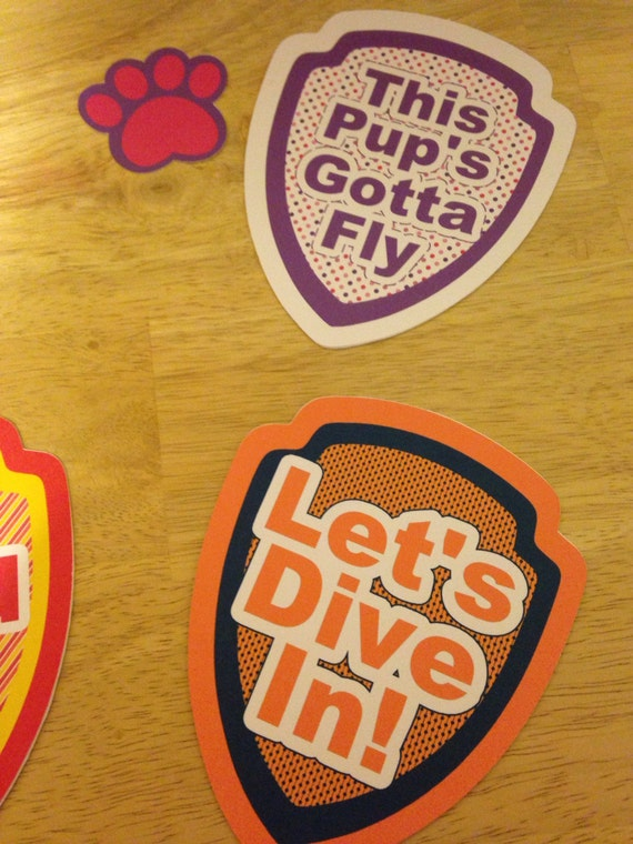 Paw patrol quot sayings die cuts set from addybugs on etsy studio