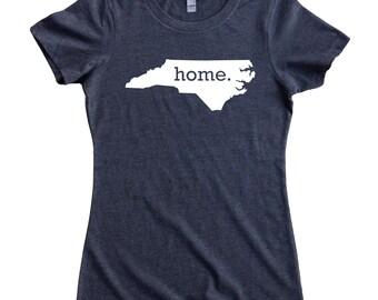 Homeland Tees North Carolina Home State Women's T-Shirt