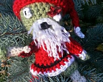 Zombie Santa Claus - PATTERN ONLY!!!! - Crochet Pattern