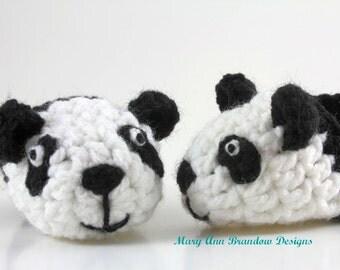 Little Panda Baby Booties