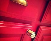 Champagne Cork Dawer & Cabinet Pulls w/ Pop Shield