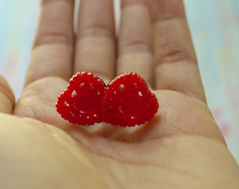 4g 2g 0g 00g Heart Flower Plugs Red Gauges for Stretched Ears Custom Size 4 2 0 00 Wedding Bridal