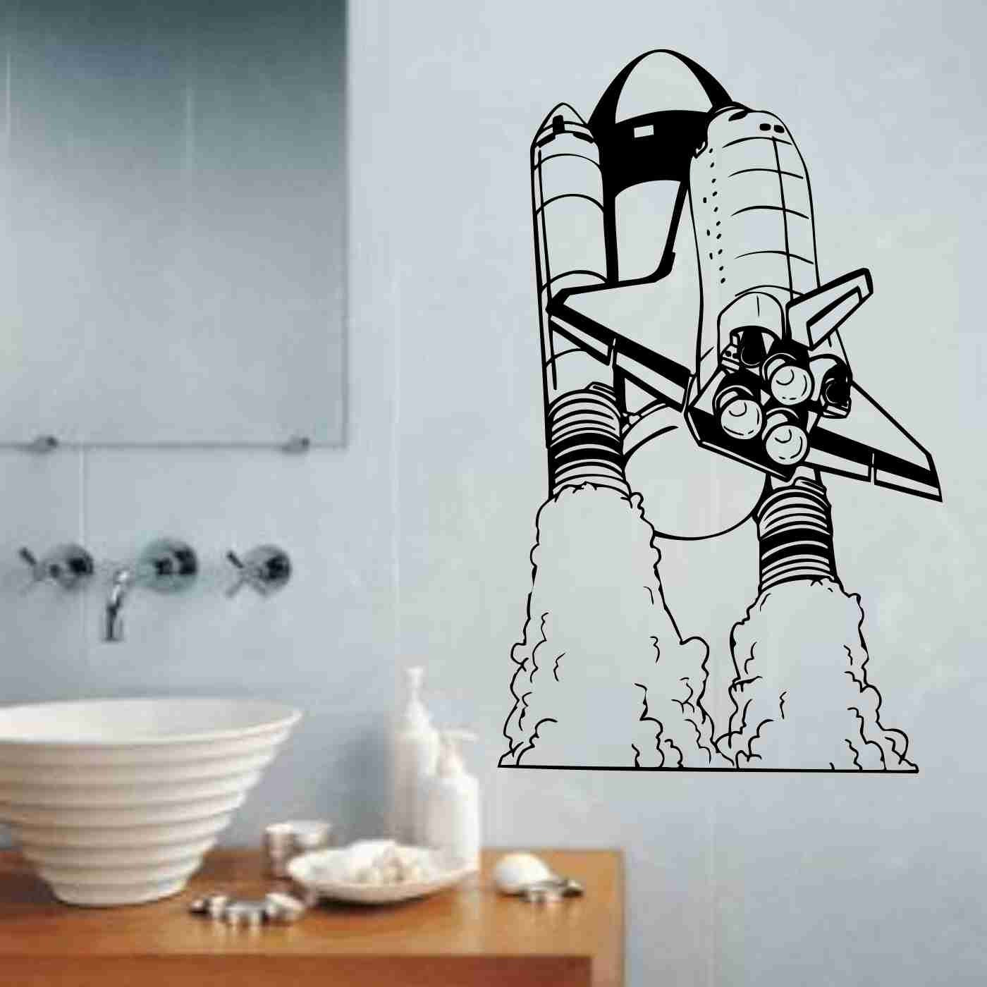 Space Shuttle Version 101 Vinyl Wall Decal Sticker Art Graphic