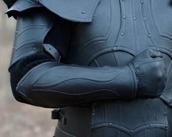 Leather Armor Bracers/Viking Battle Bracers -Pair