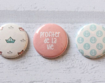 "3 badges 1 ""enjoy life"