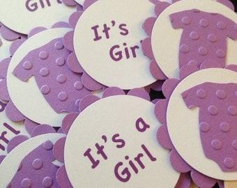 onesie baby shower - onesie baby girl - onesie cupcake toppers - onesie decorations - onesie favors - onesie party -girl baby shower