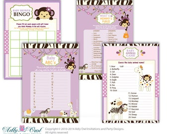 Girl  Cocalo Jacana Game Essential Kit, Bingo, Mommy's Purse, Baby ABS,  Baby Animal, It's a Girl,  Jungle - ONLY digital file – ao22bsk1