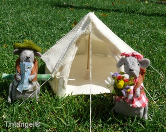 Bell Tent - download pdf pattern (without mice)