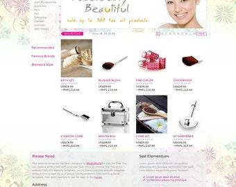 Bespoke Website With 3 Page Custom Design
