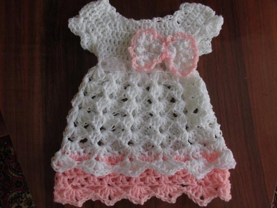 Baby Kleidung, Baby Kleider, häkeln Baby Kleid, Mädchen Kleid ...