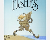 Children's Book, Wishes For Fishes written and illustrated by C. Spliedt