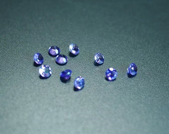Set of 10 Amethyst, Fine Cabochon from Thailand