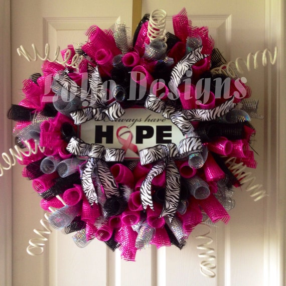 Items Similar To Always Have Hope Breast Cancer Awareness