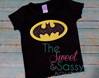 Bat shirt.