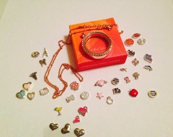 FLOATING CHARMS FIT Origami Owl lockets