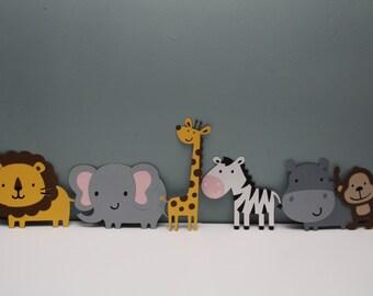 Jungle Animals - Set of 6