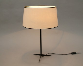 Grey Table Lamp Naunyn