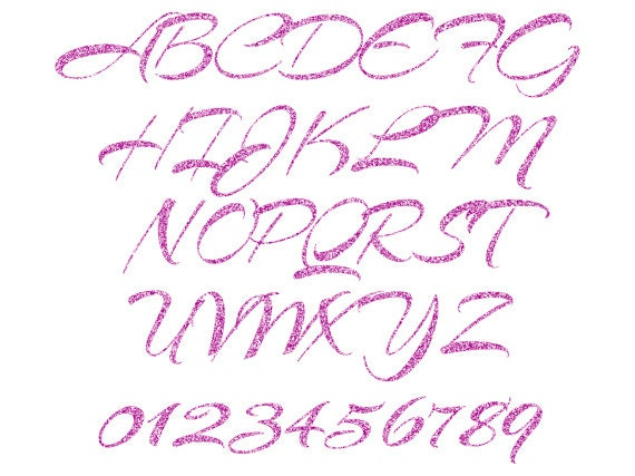 purple glitter letters numbers digital clipart 79 high orchid alphabet clipart purple glitter letters numbers 209