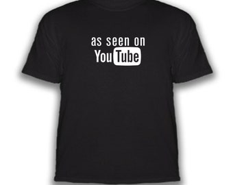 Free Shipping - As Seen On YouTube - T-Shirt - Choice Of Colors
