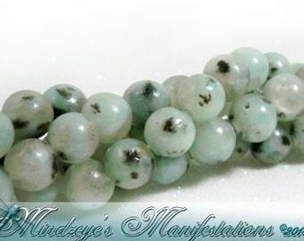 Lotus Jasper Round Beads 6mm