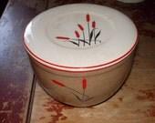 c-vintage grease jar