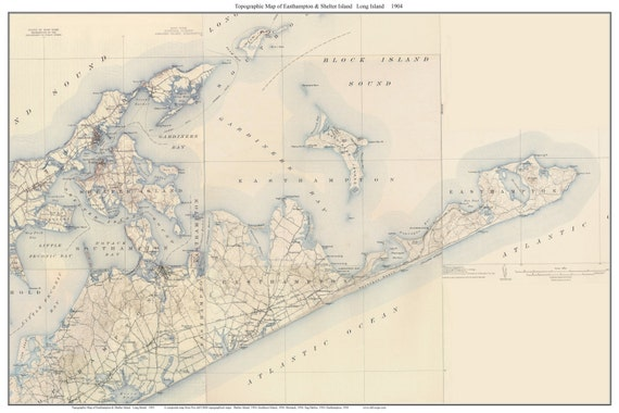 Long Island Ship Map Routes Pictures 39