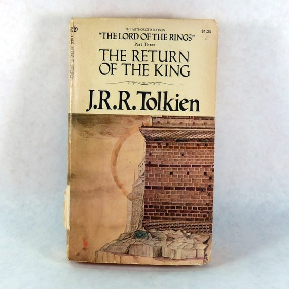 Lord Of The Rings The Return Of The King Book by LeftHandPath