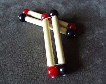 MOUSETRAP Cock  Sex Toy Sticks BDSM Bondage Sensory CBT Fetish Kink Mature Red or Black
