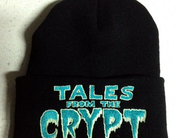 Tales From The Crypt beanie Cryptkeeper horror comics horror tv show