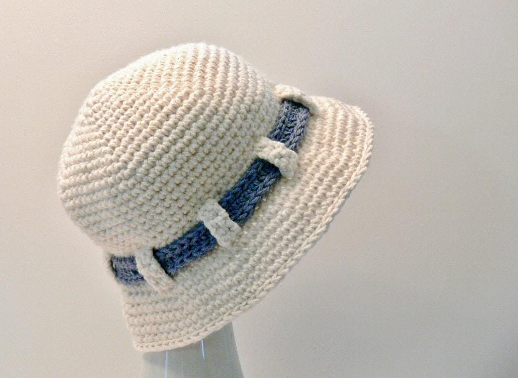 Crochet Pattern Boys Hat Girls Hat Sun Hat Summer Hat