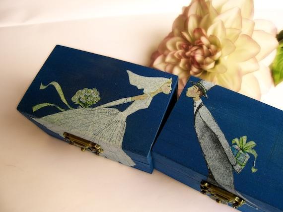 Royal Wedding Gifts: Items Similar To Personalized Royal Blue Wedding Ring
