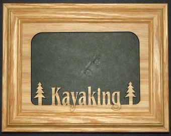 Kayaking Picture Frame 5x7