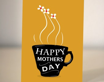 Mother's Day card - tea lover card for Mum/Mom