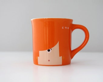 Mugs500 Dokabee Orange by Jahng, Hyoungjoon