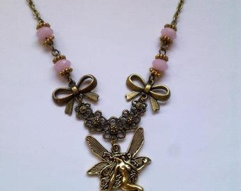fairy necklace faery vintage