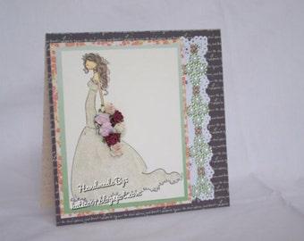 Stamping Bella Wedding Dress card
