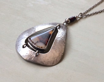 Sterling Artisan made pendant necklace