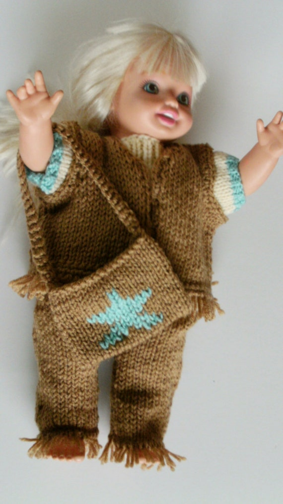 Knitting Patterns For Our Generation Dolls : NEW PATTERN Fringed Country and Western Fun Set for ...
