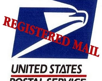 REGISTERED MAIL UPGRADE - Non-United States Only