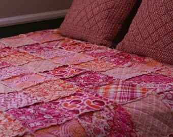 queen size quilt king size quilt rag quilt for bed king size bedding - King Size Blanket