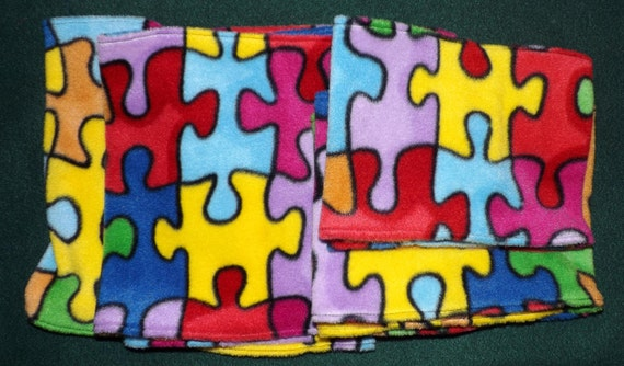 Autism Awareness Neck Warmers