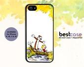 Calvin and Hobbes iPhone Case •Calvin & Hobbes iPhone 5 Case • Comic Strip iphone case • iphone 5 case iphone 4 case