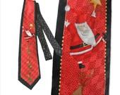 Ugly Christmas Sweater, Alternative,Tie, Hallmark, Cool Yule,Necktie,Santa,Vintage, 90's, Men's,Unisex,Women's,Silk,retro,reindeer, Holiday
