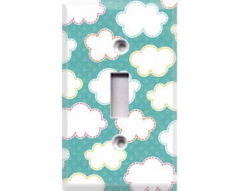 Hootenanny Collection - Clouds Light Switch Cover