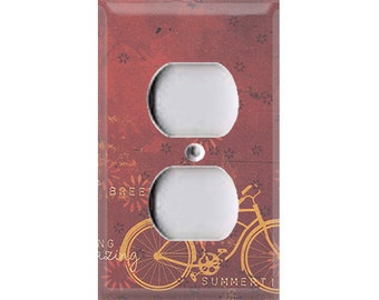 Boardwalk Collection - Bicycle Outlet Cover