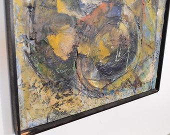 Modern Encaustic Painting by Y Sajima