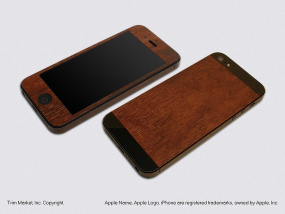 iphone model a1429 for apple iphone 5 model a1428 a1429 royal walnut wood 12046