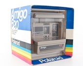 Polaroid Amigo 620 Land Camera new in box NOS NIB - Polaroid 600 - Tested - Working Polaroid 80s instant camera