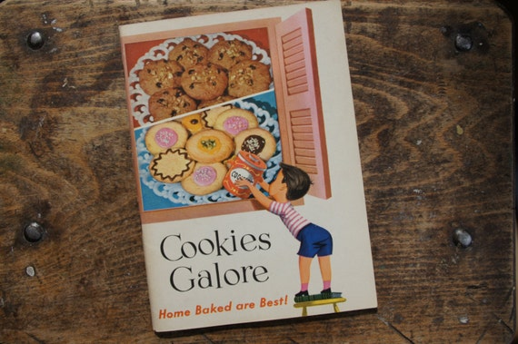 Cookies Galore Cookbook ~ 1956 ~ General Foods Corp
