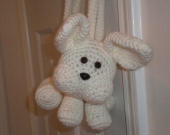 Crocheted Animal Purse (Bunny Rabbit)